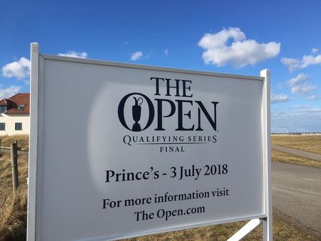Hosting golf course for the event: The Open Qualifying