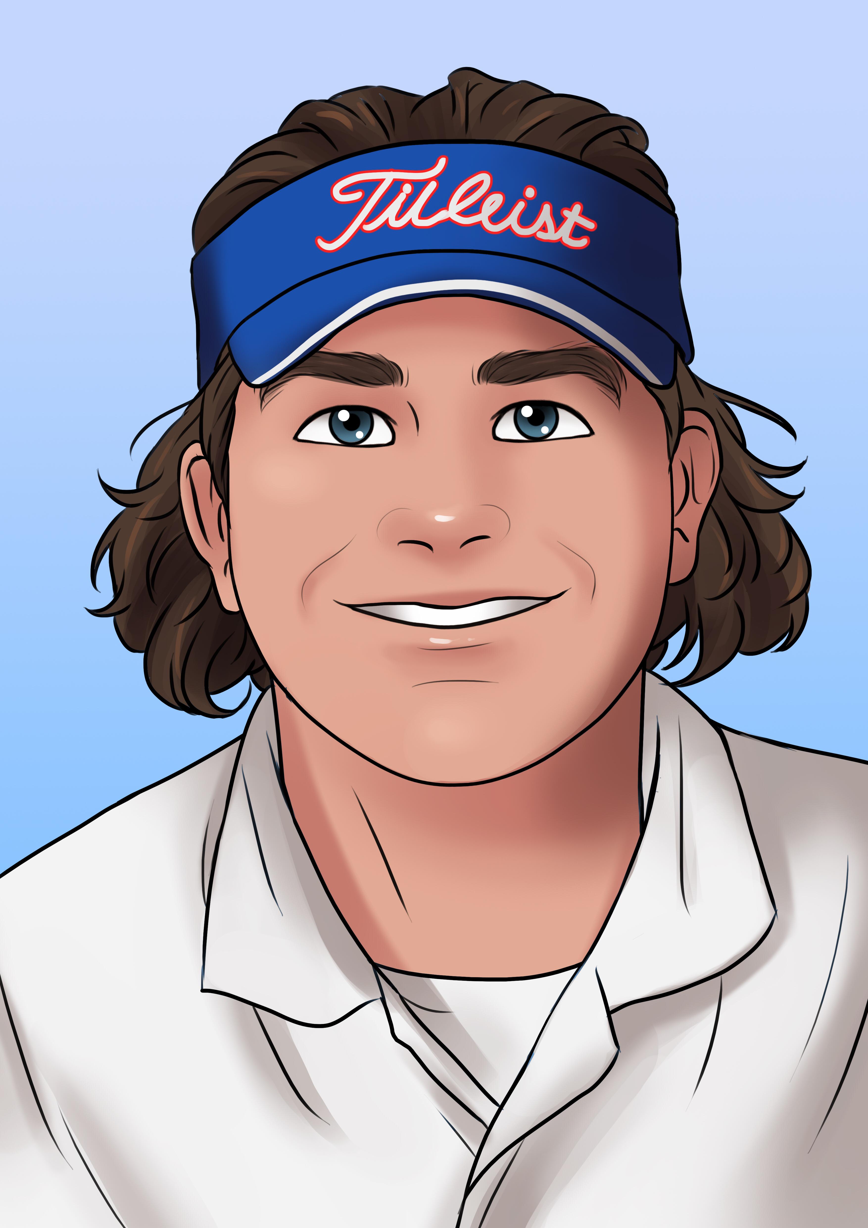 Avatar of golfer named Axel Roth