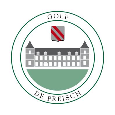 Logo of golf course named Golf de Preisch
