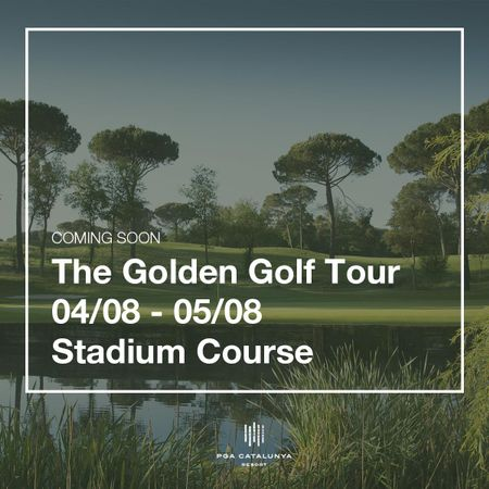 Cover of golf event named The Golden Golf Tour