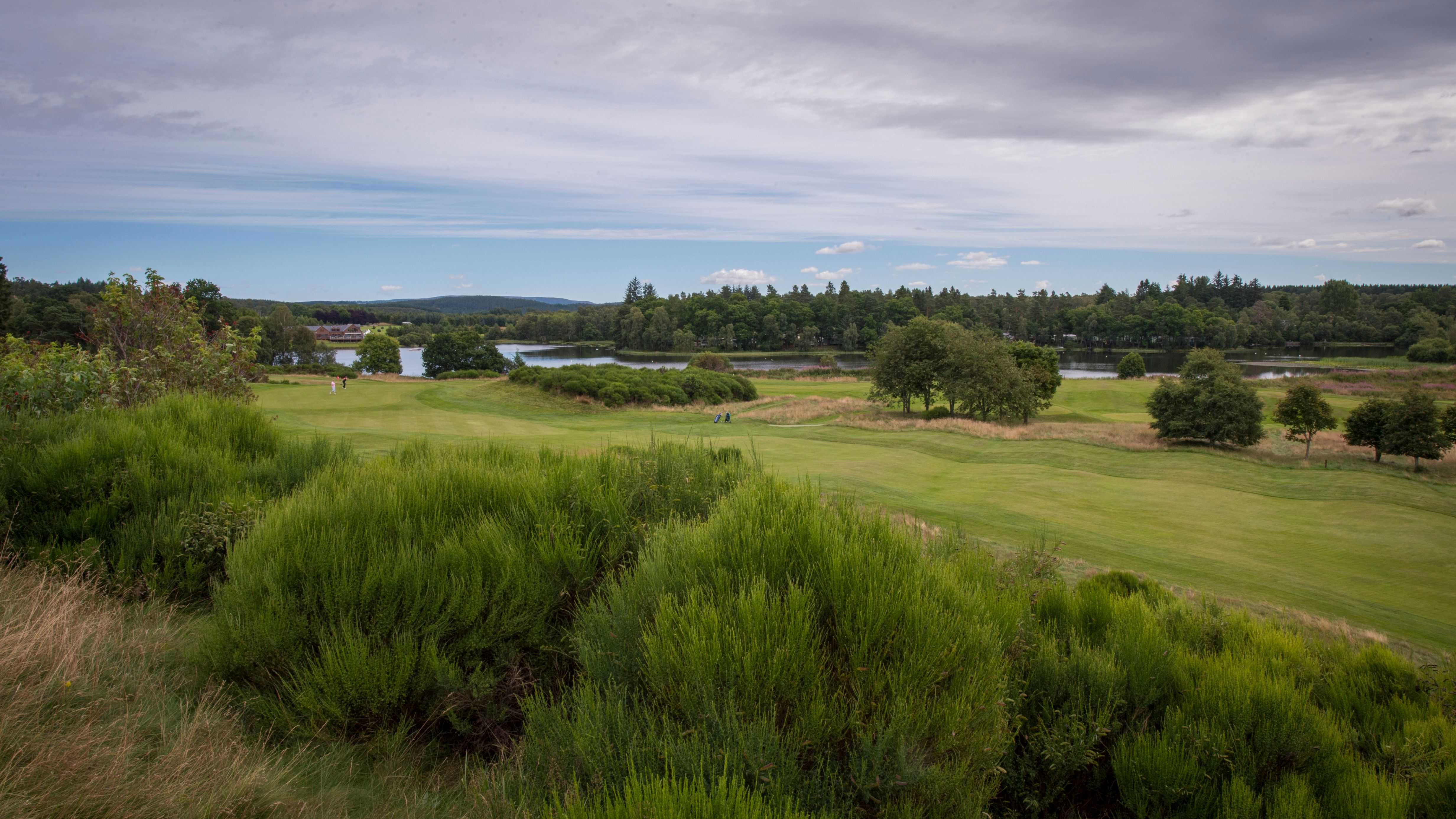 Cover of golf event named Open Mixed Greensome