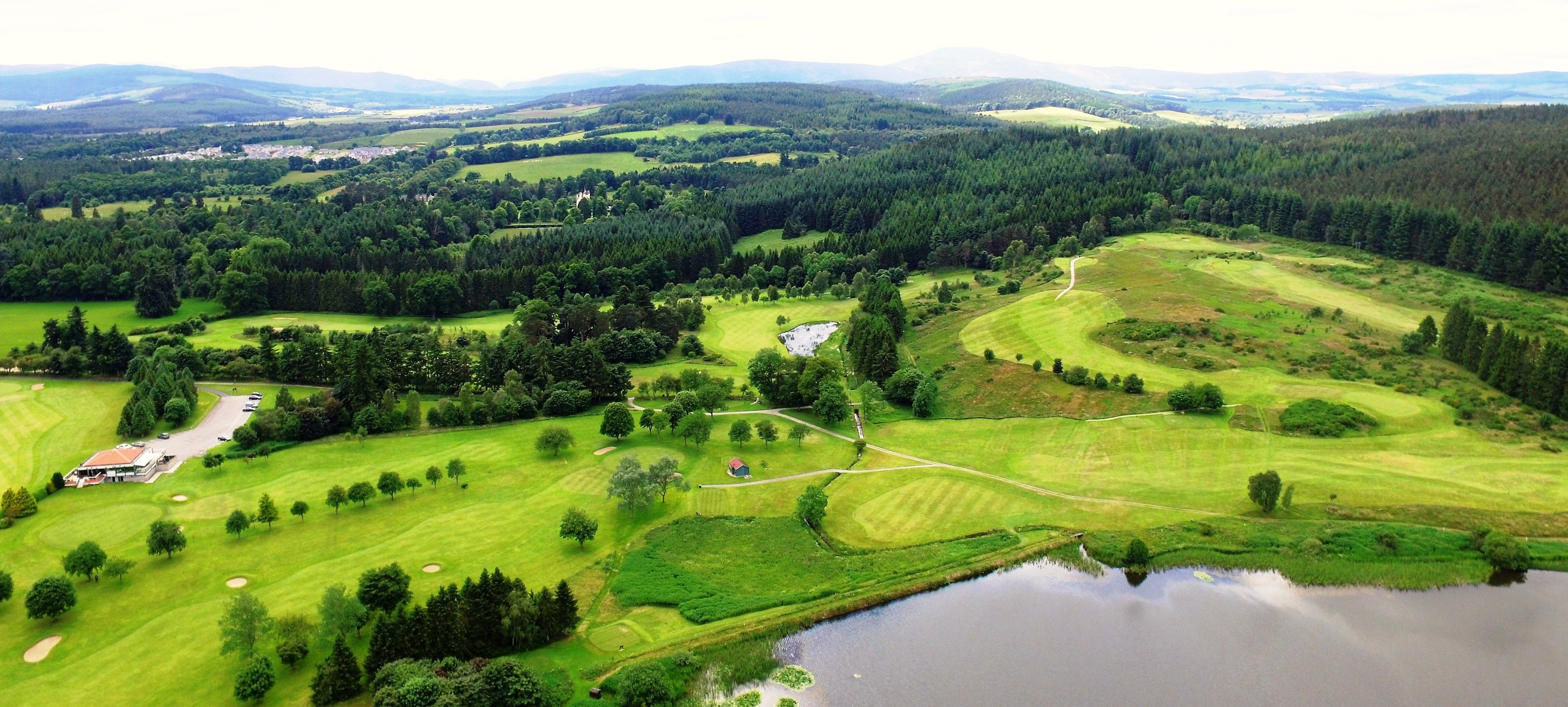 Preview of album photo named A course of two halves - parkland front 9 followed by the challenge of the heathland back 9 !!
