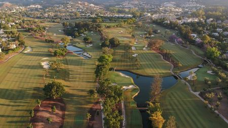 Overview of golf course named Real Club de Golf Las Brisas