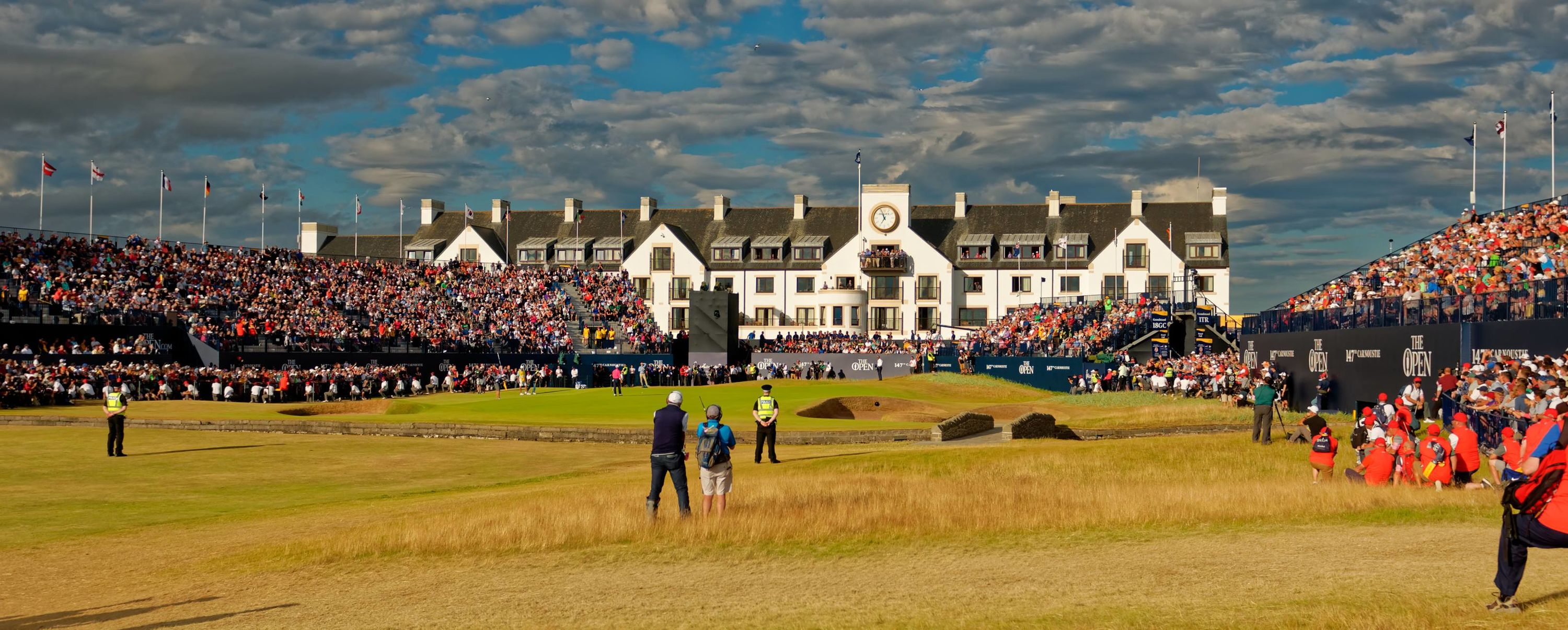 Carnoustie golf links cover picture