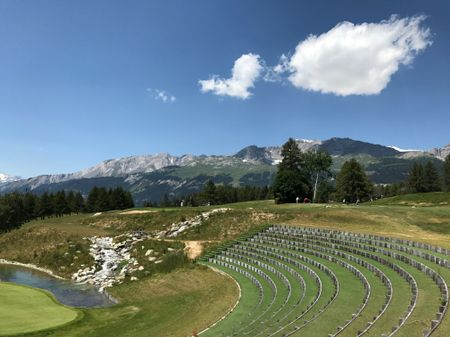 Preview of album photo named Golf Club Crans-sur-Sierre