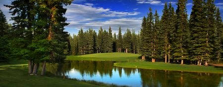 Overview of golf course named Redwood Meadows Golf and Country Club