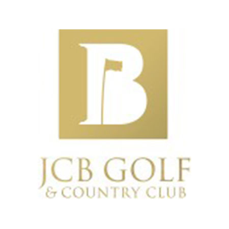 Logo of golf course named JCB Golf & Country Club