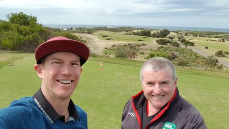 New south wales golf club tyson flynn checkin picture