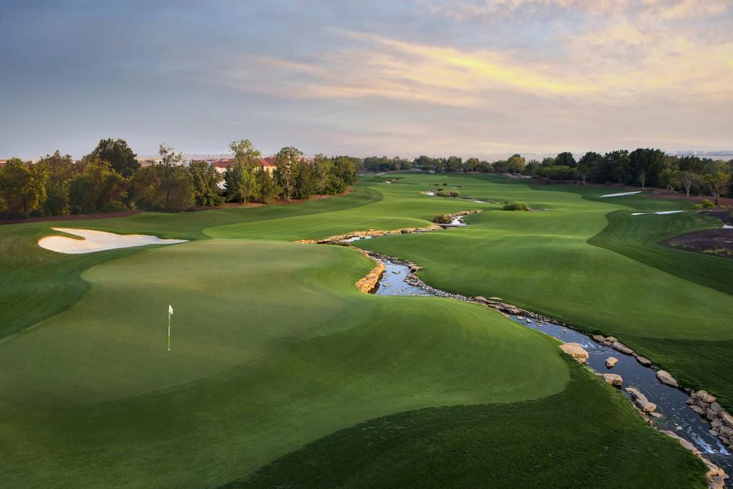 Overview of golf course named Jumeirah Golf Estates - Earth Course