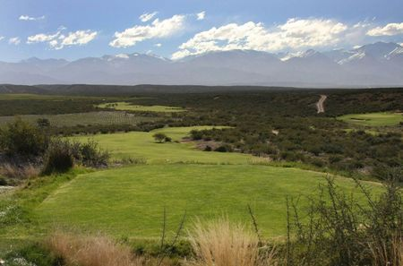 Overview of golf course named Tupungato Winelands Golf Club