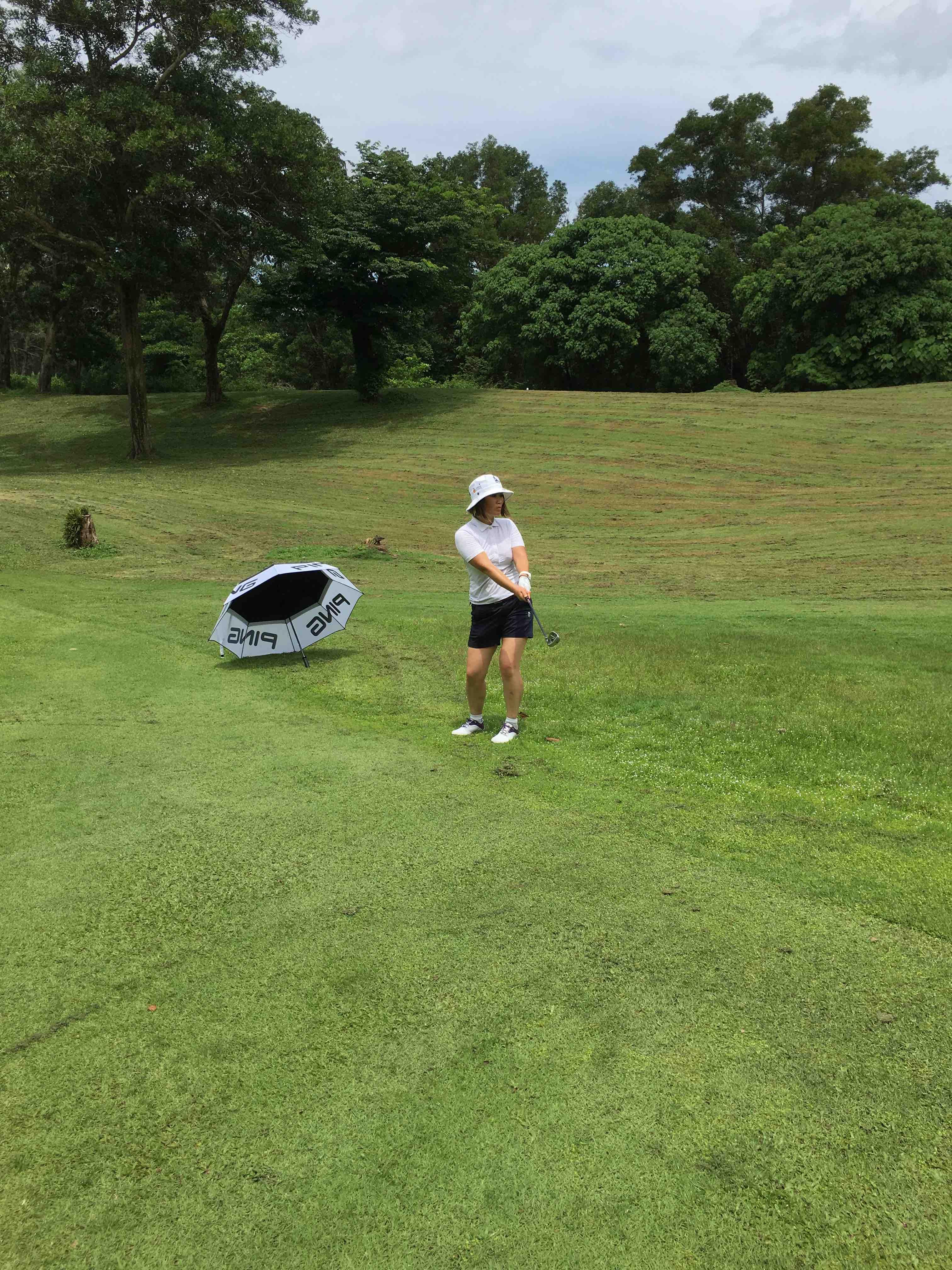 Avatar of golfer named Ann Jin