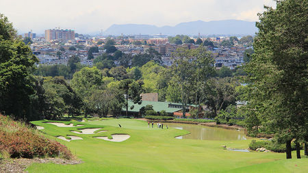 Overview of golf course named Los Lagartos Golf Club