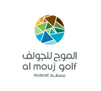 Logo of golf course named Al Mouj Golf