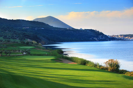 Overview of golf course named Costa Navarino - Bay Course