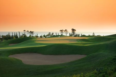 Overview of golf course named Costa Navarino - Dunes Course