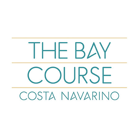 Logo of golf course named Costa Navarino - Bay Course