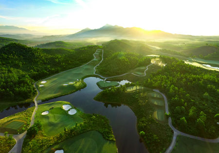 Overview of golf course named Ba Na Hills Golf Club