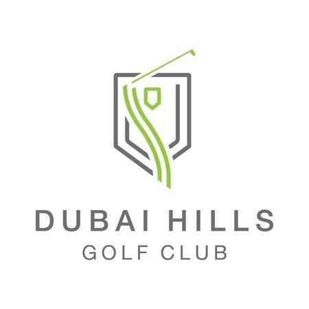 Logo of golf course named Dubai Hills Golf Club