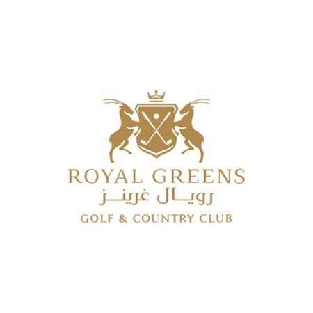 Logo of golf course named Royal Greens Golf and Country Club