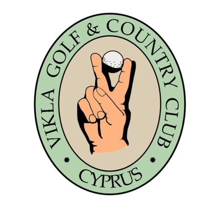 Logo of golf course named Vikla Golf and Country Club