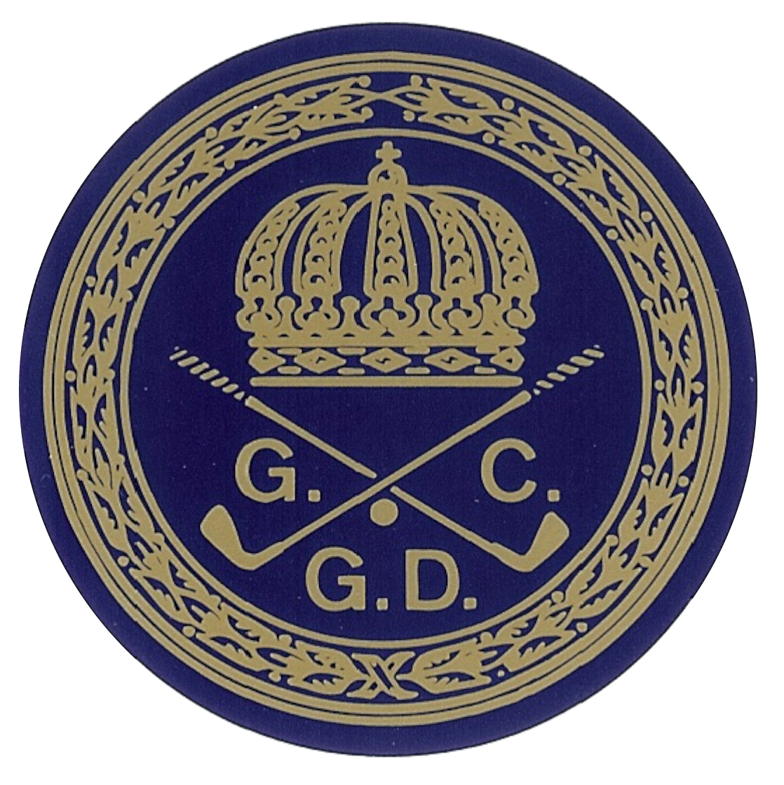 Logo of golf course named Golf Club Grand-Ducal
