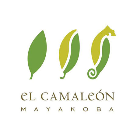 Logo of golf course named El Camaleon Mayakoba Golf Club