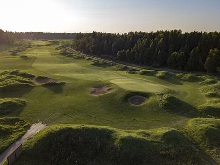 Overview of golf course named Gorki Golf & Resort