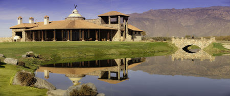 Overview of golf course named La Estancia de Cafayate Golf Club