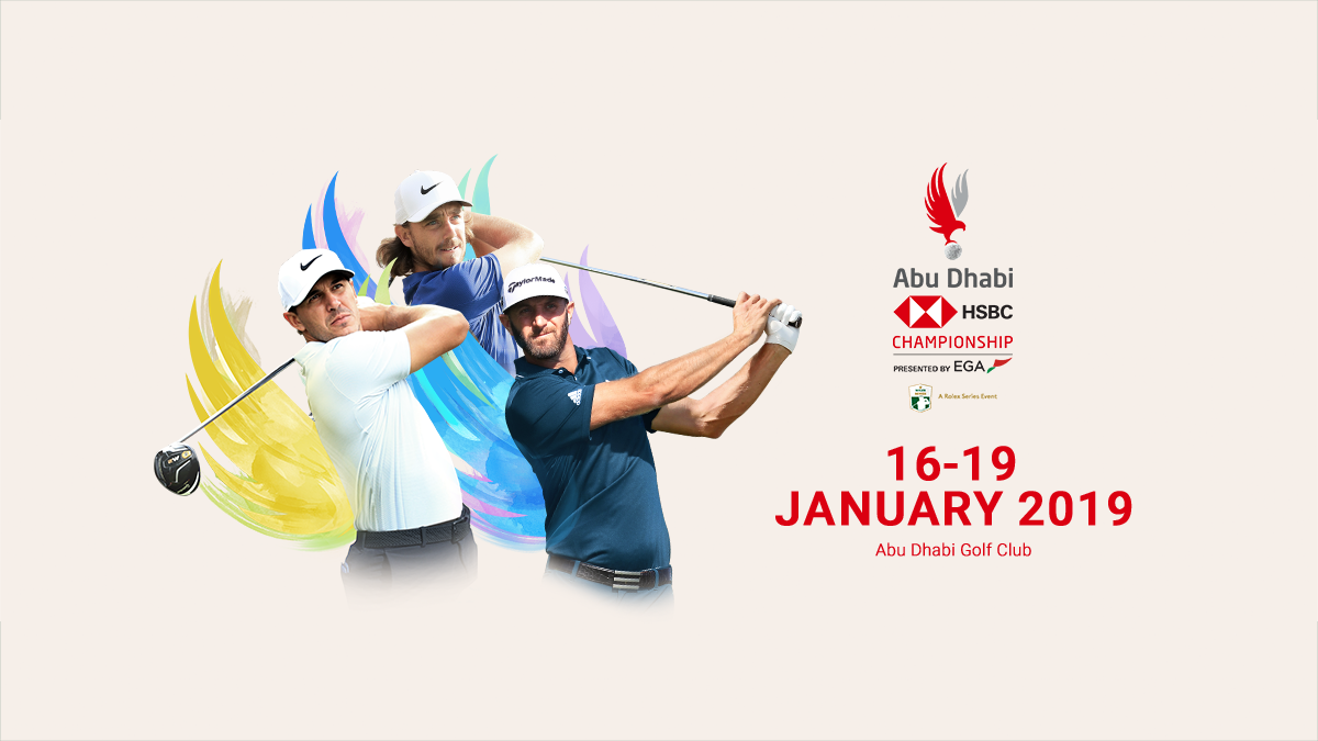 Hosting golf course for the event: Abu Dhabi HSBC Championship presented by EGA