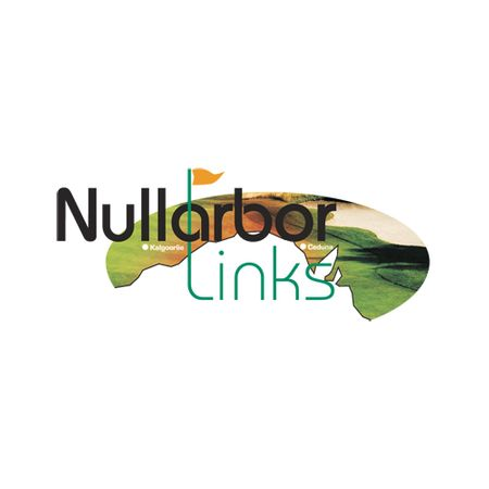 Logo of golf course named Nullarbor Links