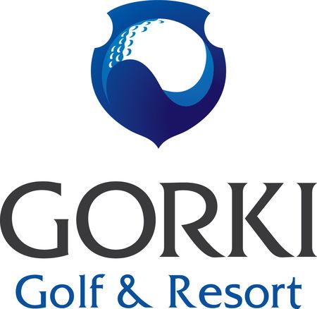 Logo of golf course named Gorki Golf & Resort
