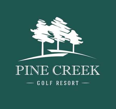Logo of golf course named Pine Creek Golf Resort