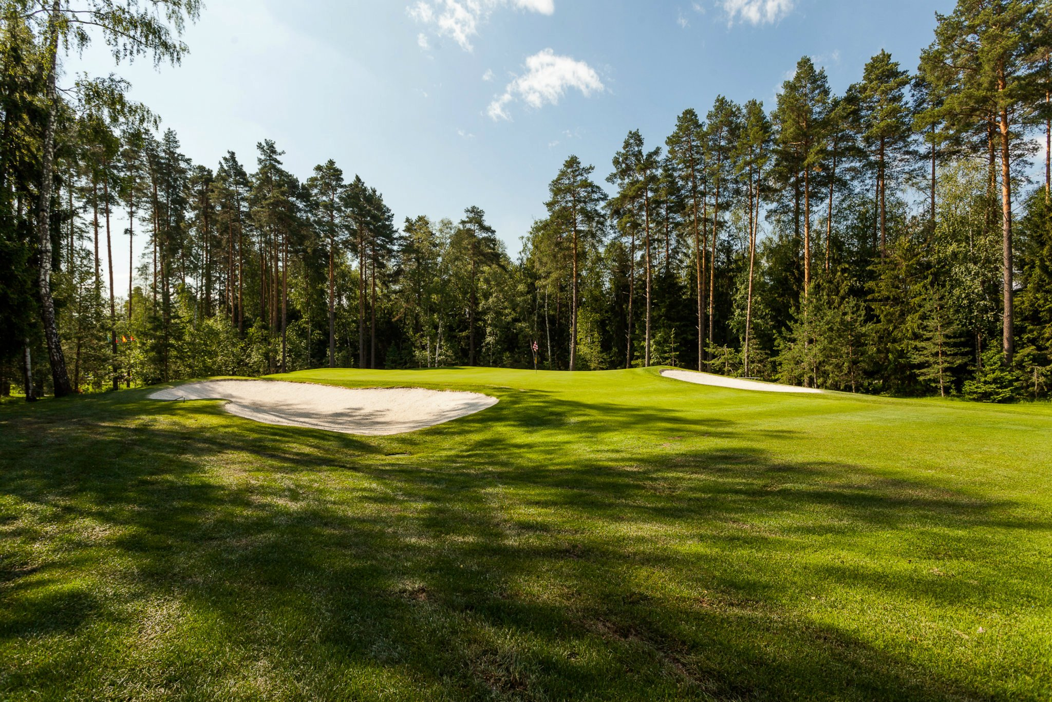 Overview of golf course named Moscow Country Club Golf Resort