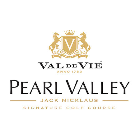 Logo of golf course named Pearl Valley Golf & Country Estate