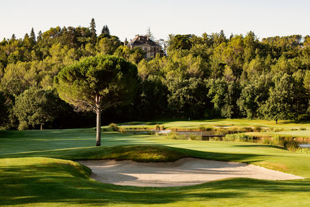 Overview of golf course named Terre Blanche Hotel Spa Golf Resort - Le Château