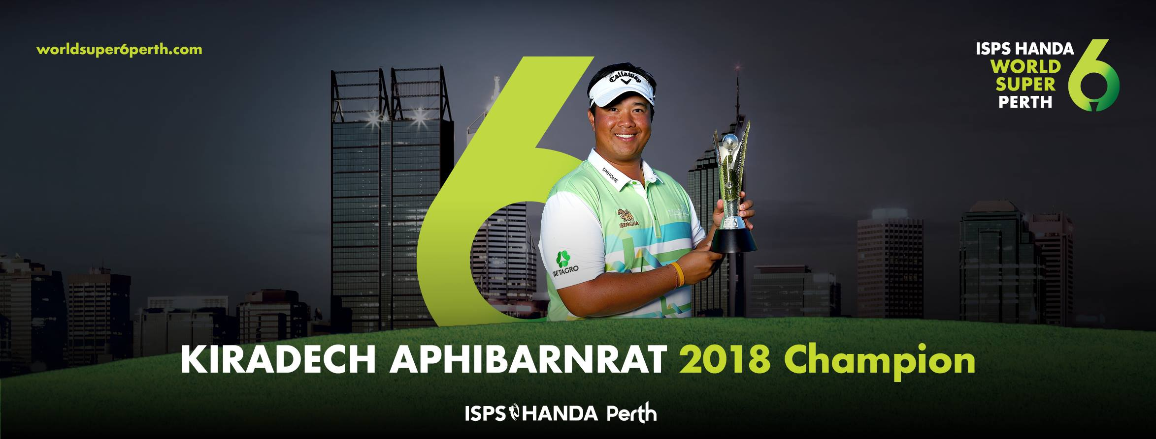 Hosting golf course for the event: ISPS Handa World Super 6 Perth