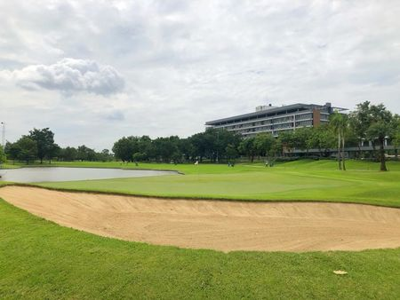 Overview of golf course named Bangkok Golf Club