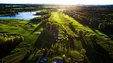 Overview of golf course named Golf and Spa Kuneticka Hora