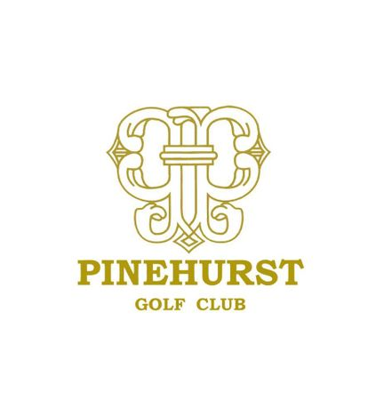 Logo of golf course named Pinehurst Golf and Country Club