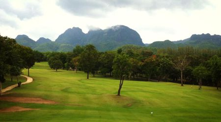 Overview of golf course named River Kwai Golf and Country Club