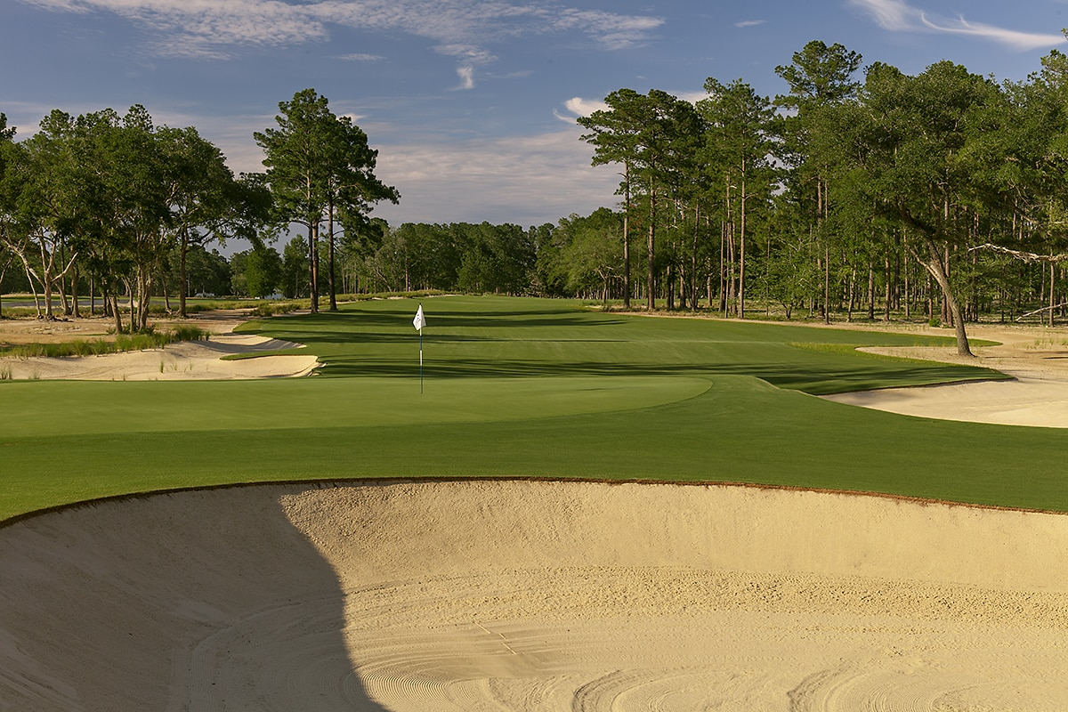 Overview of golf course named Congaree Golf Club