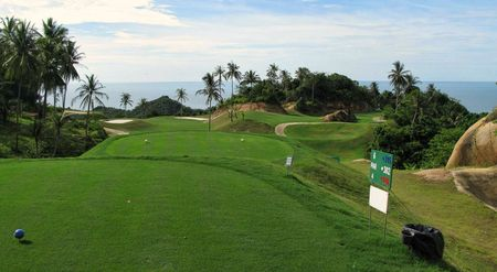Overview of golf course named Royal Samui Golf and Country Club