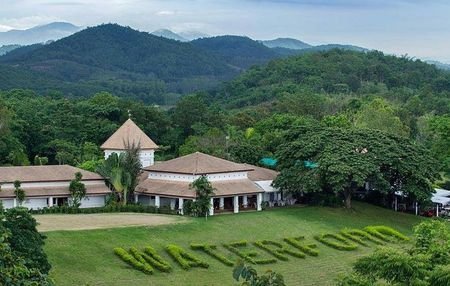 Overview of golf course named Waterford Valley Chiangrai Golf Club and Resort