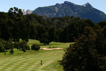 Overview of golf course named Llao Llao Golf Course