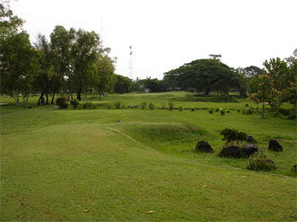 Overview of golf course named Surin Army Golf Course (Fort Weerawatyothin)