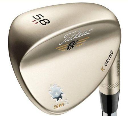 Wedge 2014 Vokey SM5 Gold Nickel Design from Titleist