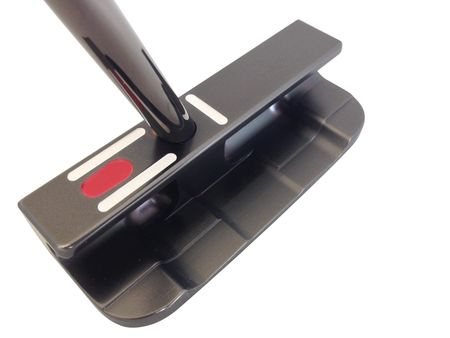 Putter Nashville Studio Series - MFGP DF (Deep Flange) SS Black Gunmetal from SeeMore Putters