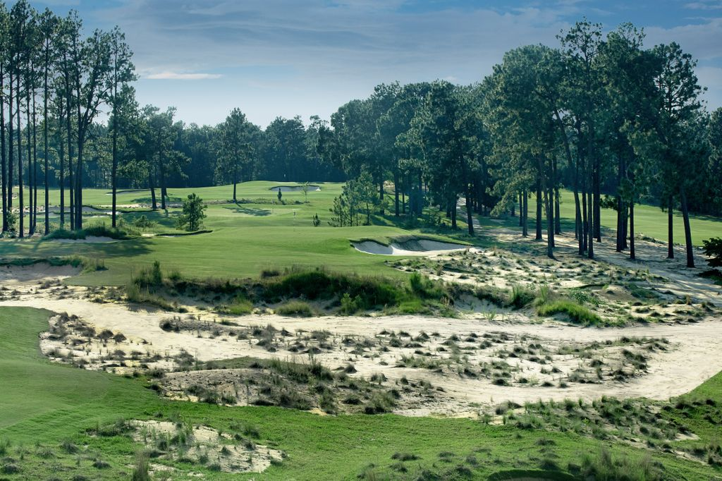 Overview of golf course named Pinehurst No. 4