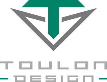 Logo of golf brand Toulon Design