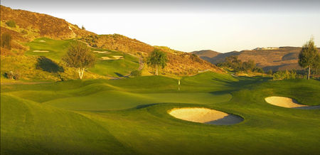Overview of golf course named Tierra Rejada Golf Club